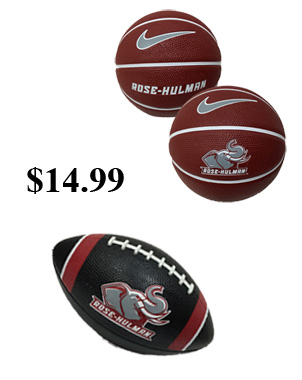 Basketball and footballs