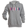 Camp David Silver Sparkle Hooded Sweatshirt