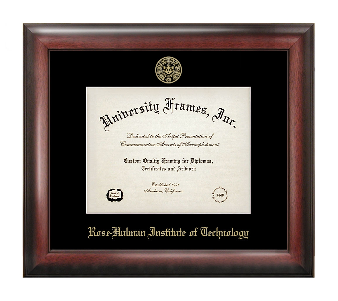 University Frames Satin Mahogany