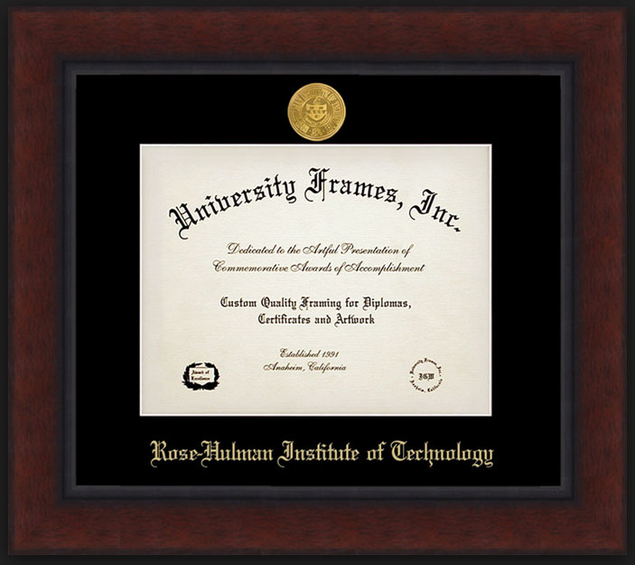 University Frames Legacy Medallion