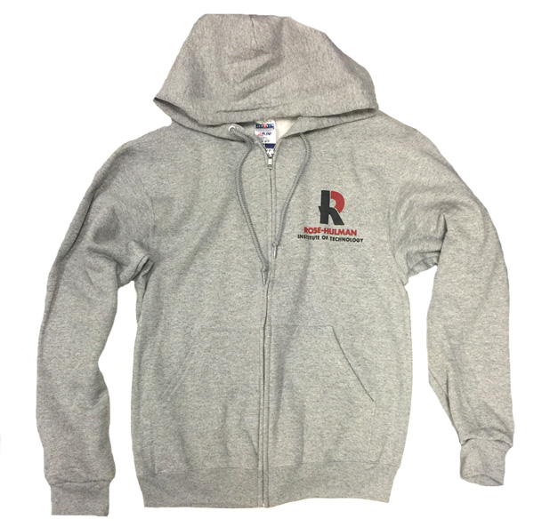 Russell Full Zip Hooded Sweatshirt