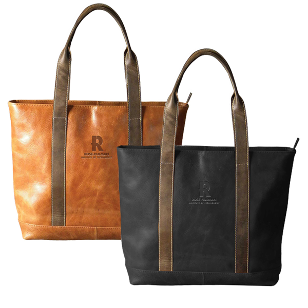 Carolina Sewn Leather Tote