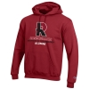 Champion Hooded Cardinal or Charcoal Sweatshirt for Alumni thumbnail