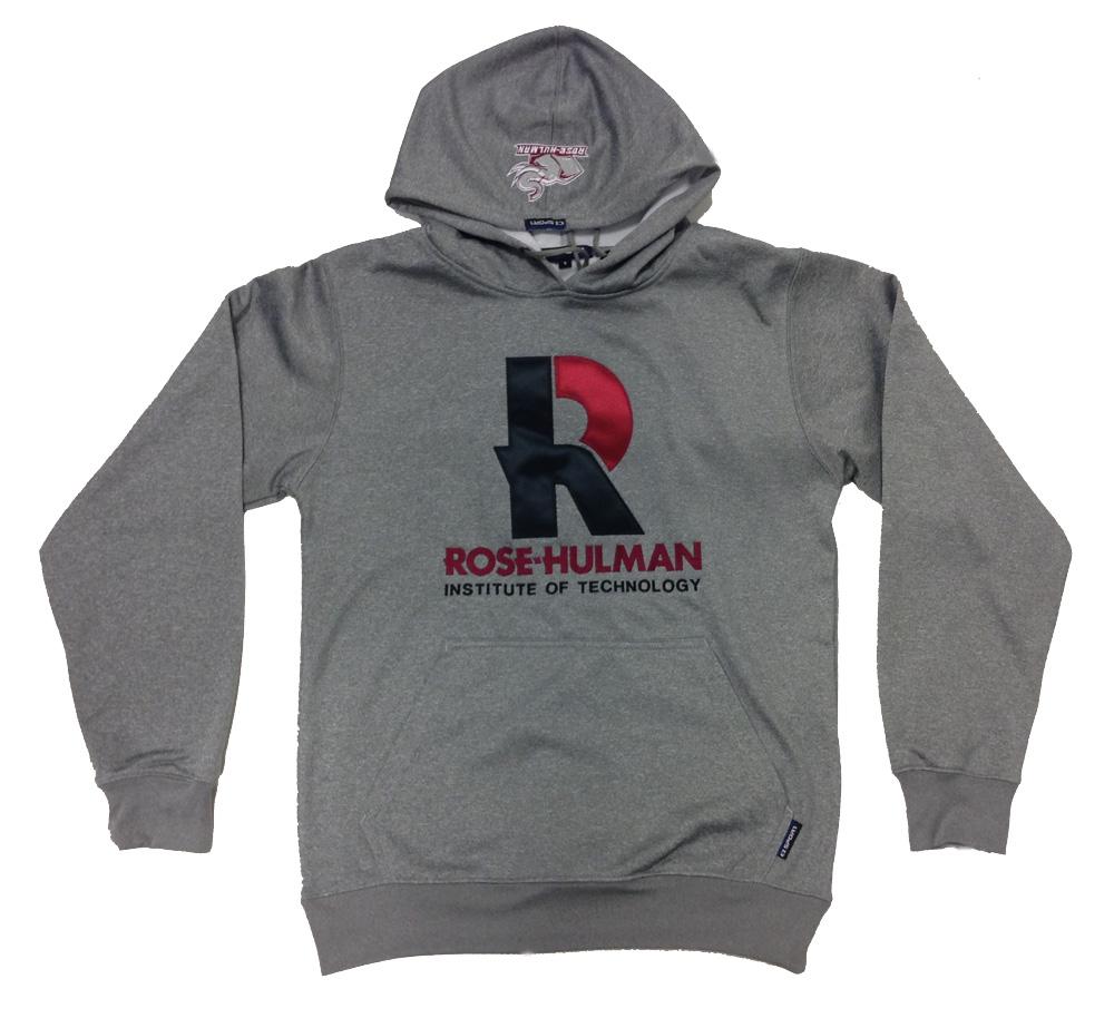 CI Sport Gray Hooded Sweatshirt