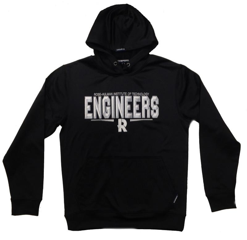 CI Black Hooded Sweatshirt
