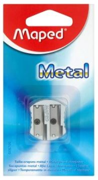 Maped 2-Hole Metal Pencil Sharpener