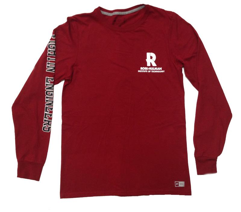 Russell Cardinal Long Sleeve T-Shirt
