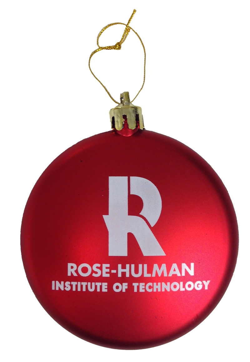 Red Satin Ornament