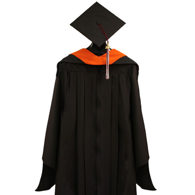 Master's Gown Set with Hood