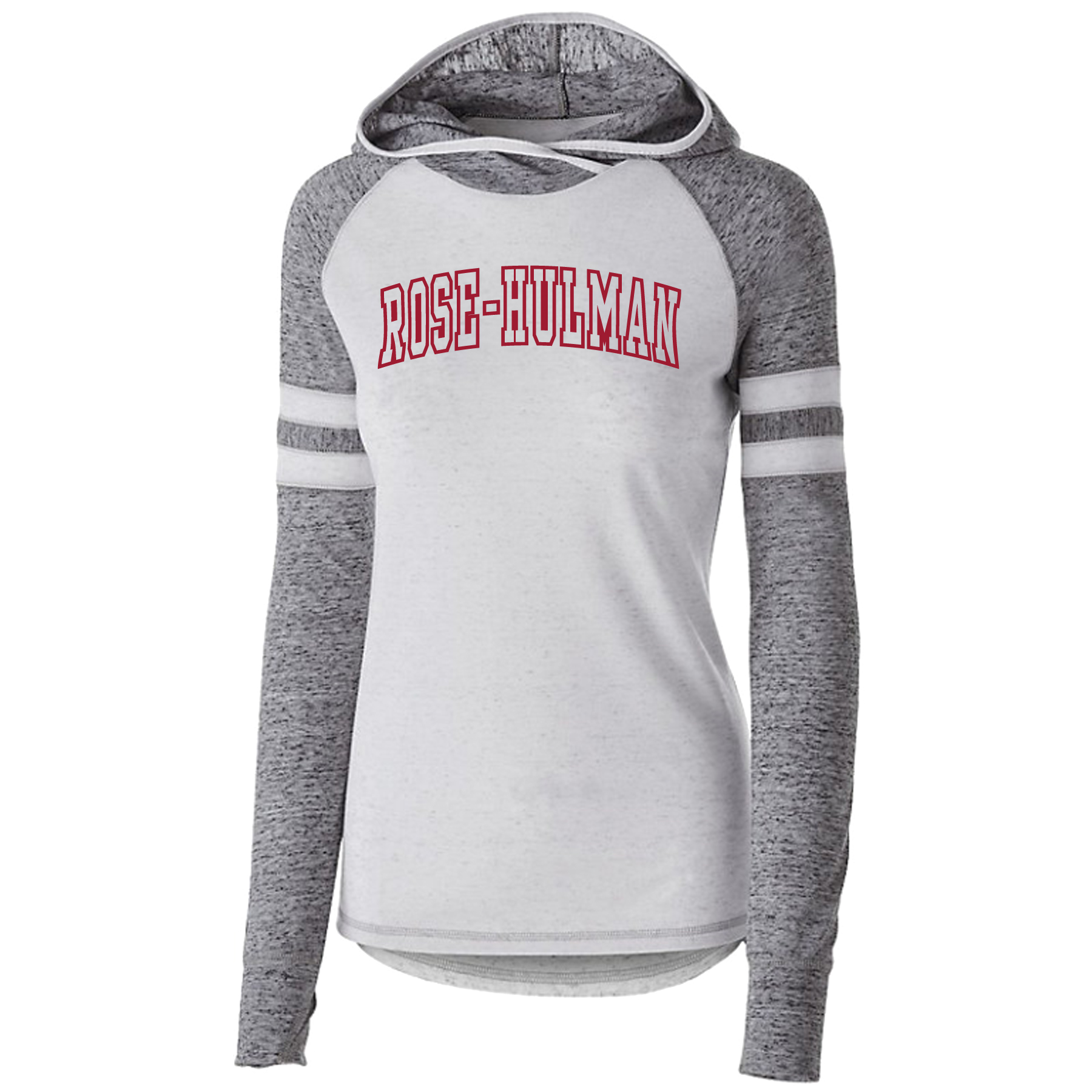 Holloway Ladies Hooded Long-Sleeve Shirt