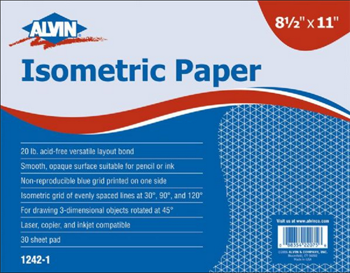 Image For Alvin Isometric Paper