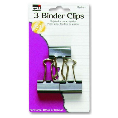 Cover Image For CLI Binder Clips Size Medium (3)