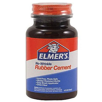 Image For Elmer's Rubber Cement (4 oz.)