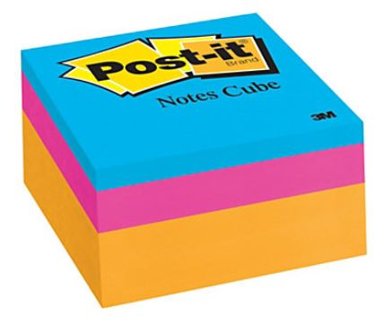 Image For Post-It Notes Cube
