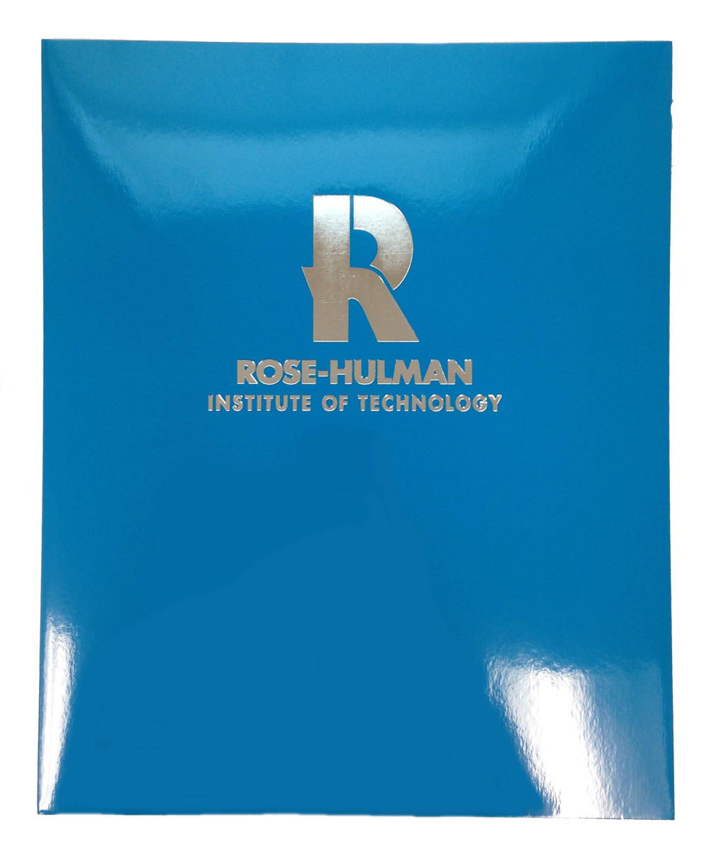Image for Roaring Springs Marine Blue Laminated Folder
