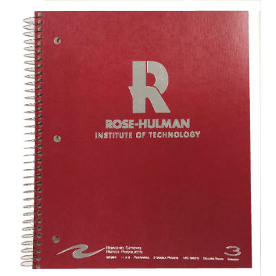 Image For Roar 3 Subject Imprinted notebook