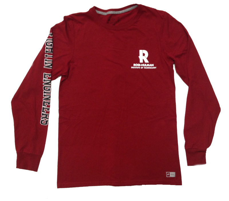 Image for Russell Cardinal Long Sleeve T-Shirt