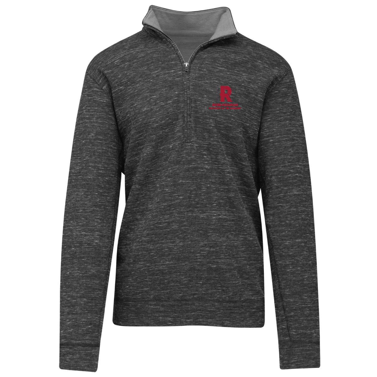 Image For Camp David Textured Quarter Zip Pullover