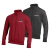 Cover Image for 1/4 Zip Sweatshirt Cardinal and Charcoal