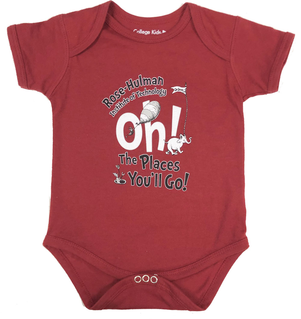 Image For College Kids Infant Onsie
