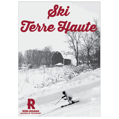 "Cover Image For SDS 2"" Ski Terre Haute Decal"