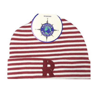 Image For Creative Knitwear Stripe Beanie