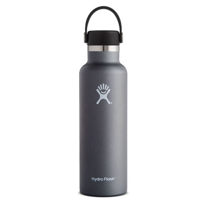Image For Standard Mouth Hydro Flask 21 oz (Graphite)