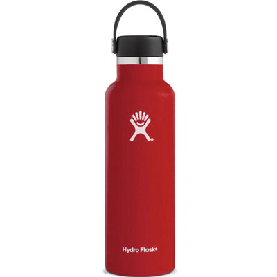 Image For Standard Mouth Hydro Flask 21 oz (Lychee Red)