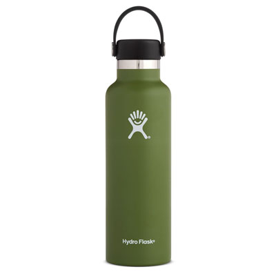 Image For Standard Mouth Hydro Flask 21 oz (Olive)