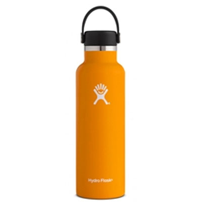 Image For Standard Mouth Hydro Flask 21 oz (Orange Zest)