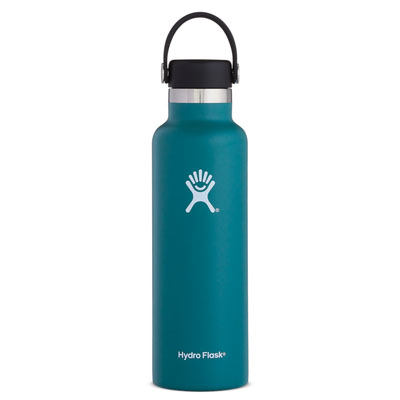 Cover Image For Standard Mouth Hydro Flask 21 oz (Jade)