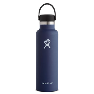 Image For Standard Mouth Hydro Flask 21 oz (Cobalt)