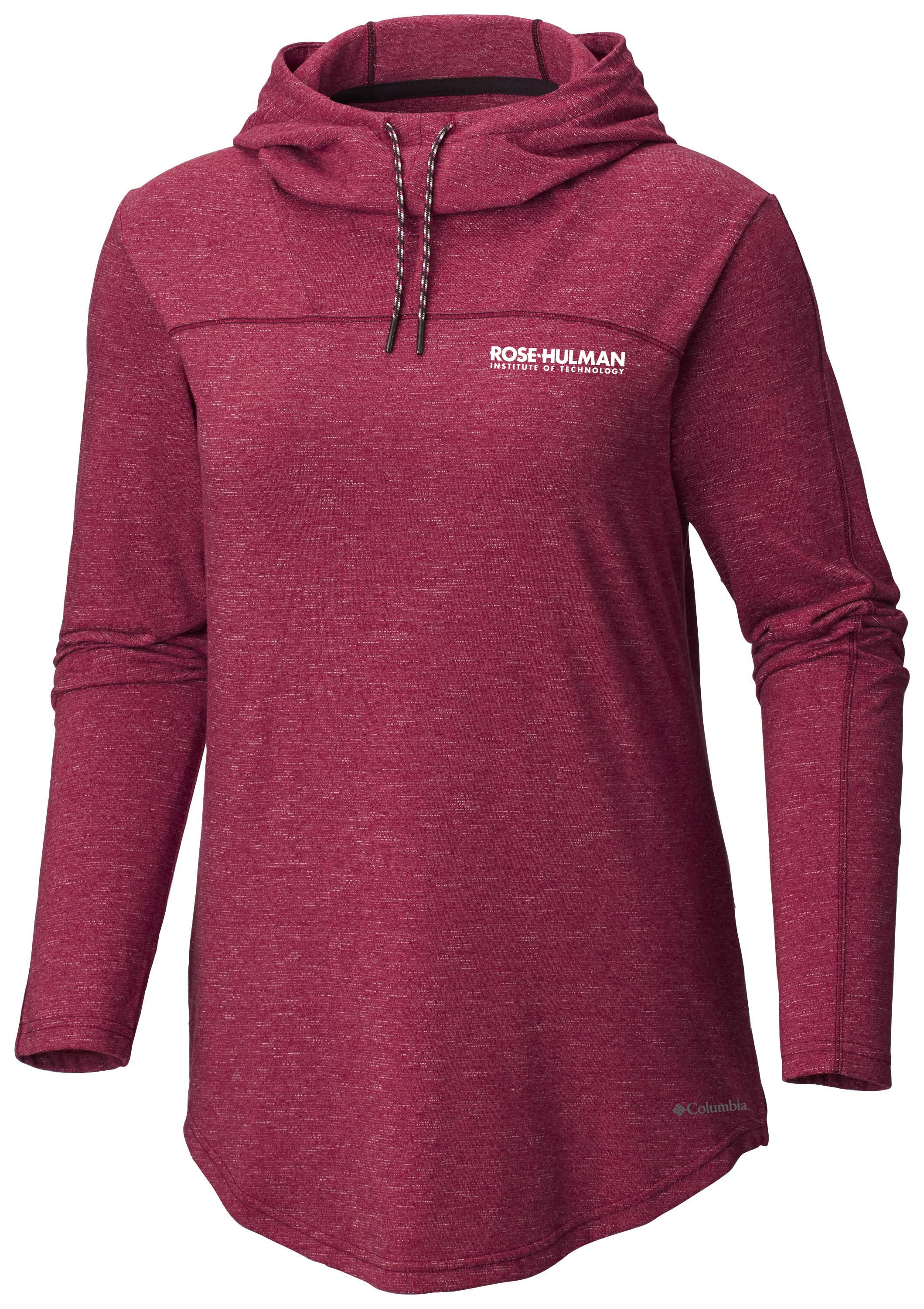 Image For Columbia Ladies Hooded Sweatshirt