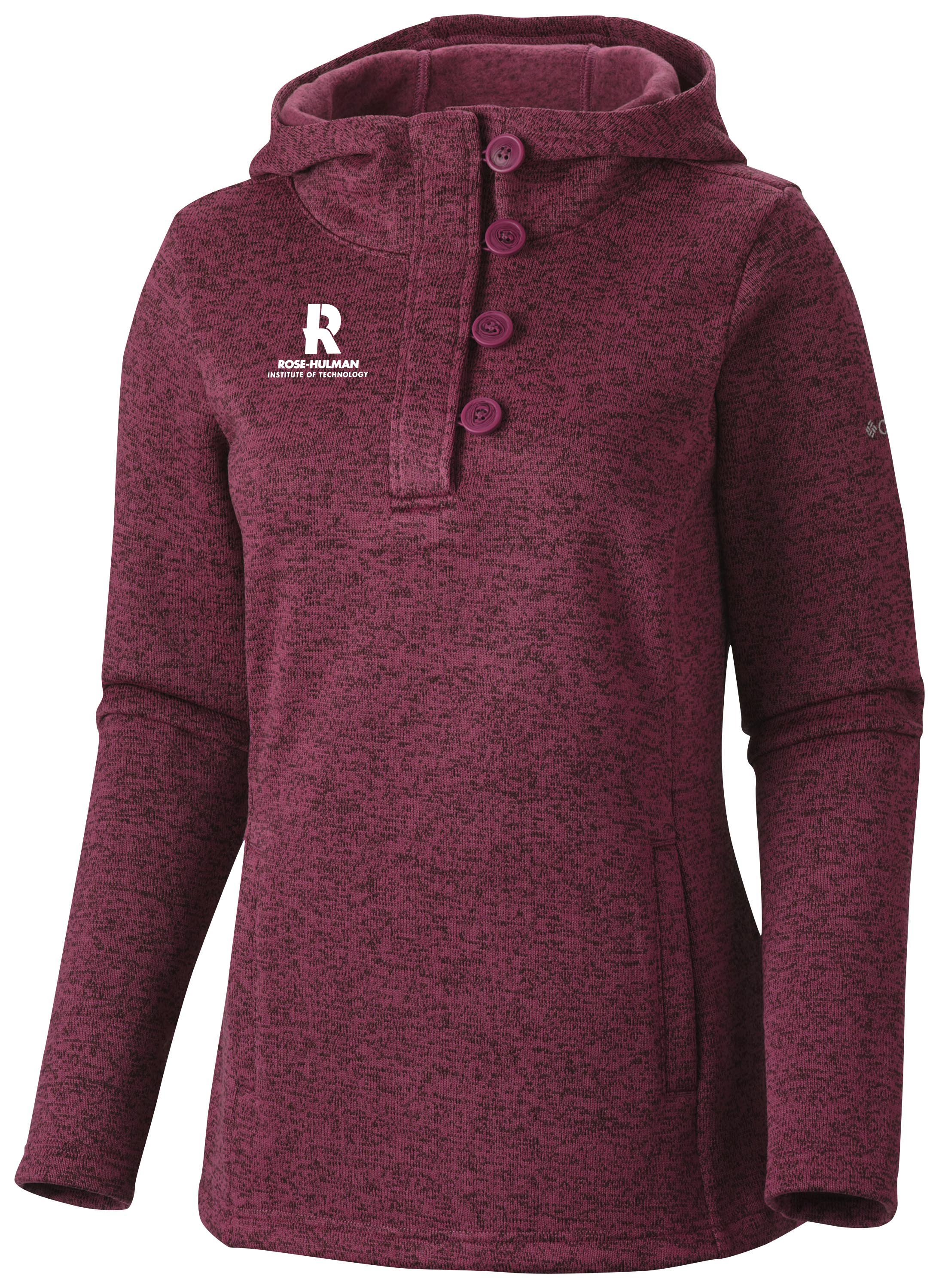 Image For Columbia Darling Days Ladies Hooded Sweatshirt