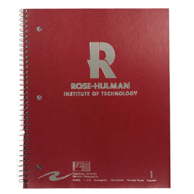 Image For Roar 1 Subject Imprinted Notebook