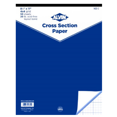 Cover Image For Alvin Cross Section Pad