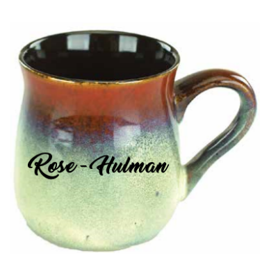 Image For 26oz Mug Tavern Rust/Beige