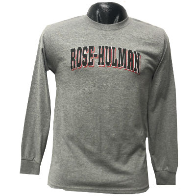 Cover Image For Russel Gray Long Sleeve T-Shirt