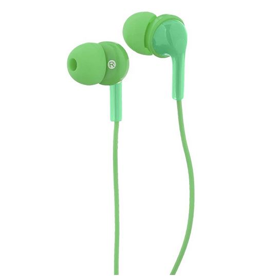 Image For Basic Wired Earbuds Lime
