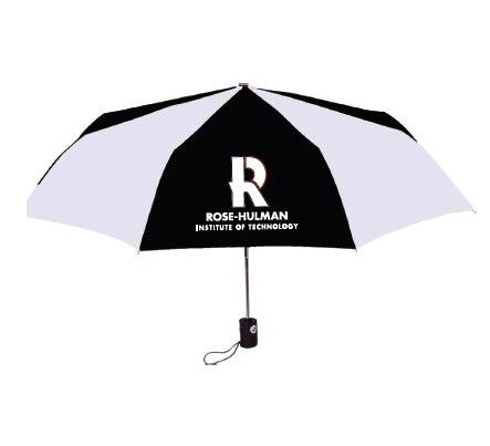 Image For STORM DUDS UMBRELLA BLACK & WHITE