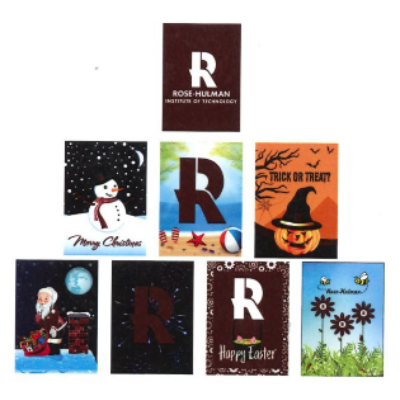 Image For Seasonal Garden Banner 8 Pack
